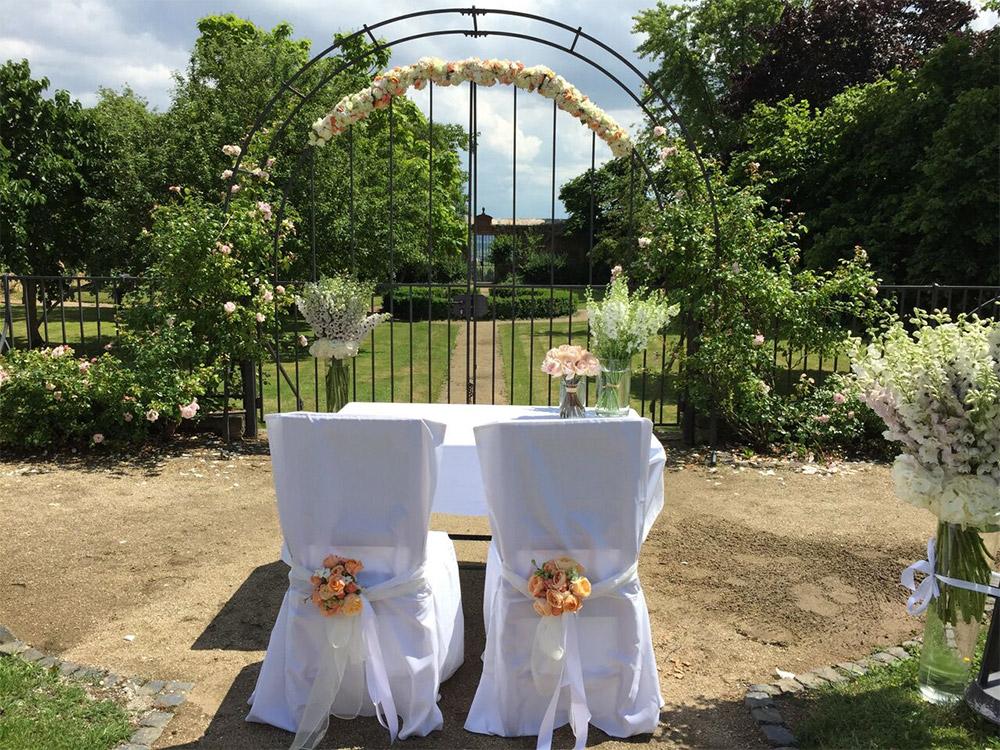 Hochzeit mit INAstyle
