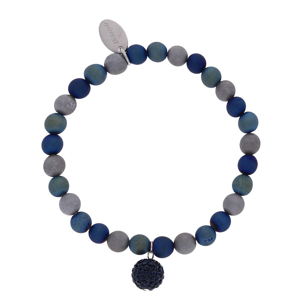 Agathe – Armband – blau