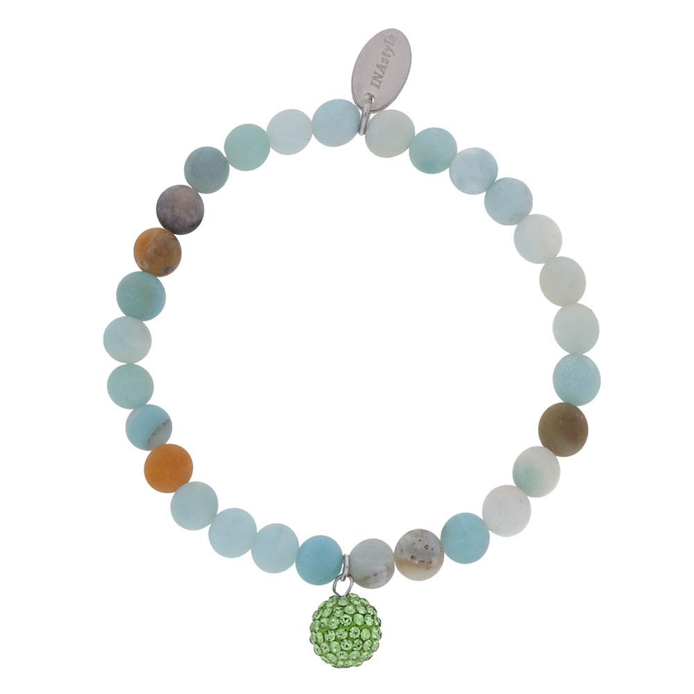 Agathe – Armband – hellgrün