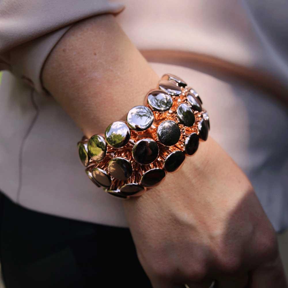 INAstyle I Armband Fame rosévergoldet!