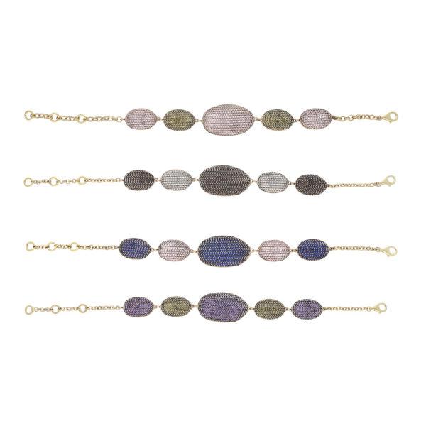 INAstyle I Armband Janneta in unterschiedlichen Farbvarianten!