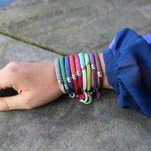 INAstyle Rochenleder Armband unterschiedliche Farben