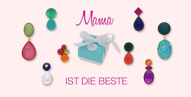 INAstyle bunte Ohrringe und Ohrclips als besondere Muttertag Geschenke
