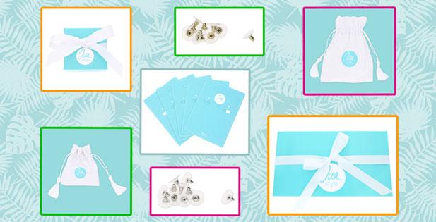 INAstyle I Schönes Schmuckzubehör wie Ohrring Karten, Ohrstecker und Geschenkboxen!