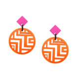 inastyle-orange-pinker-steckerohrring-minh-6