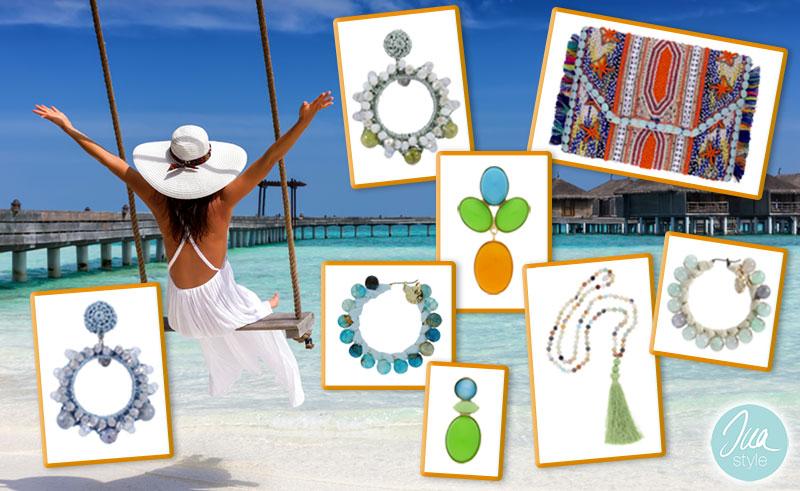 INAstyle I Sommer-Ohrringe, Boho-Clutch und Halskette!