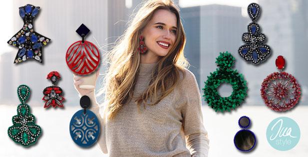 INAstyle I Wunderschöne und extravagante Ohrringe für den Herbst!