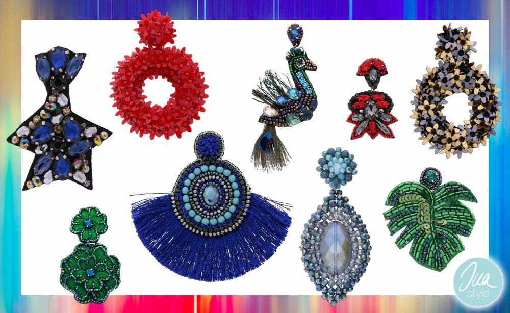 INAstyle I Außergewöhnliche Ohrringe in vielen Farben und Formen!