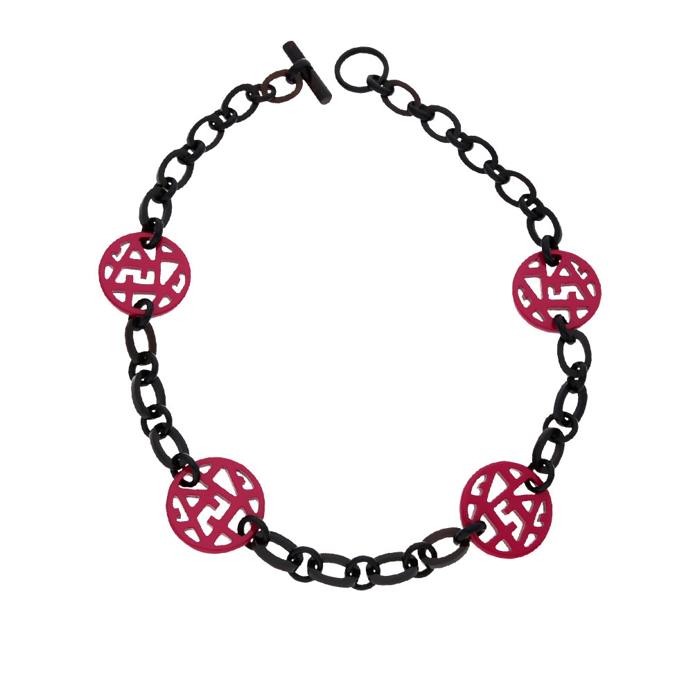 INAstyle | Erfahre mehr über Halskette Pamina in weiß